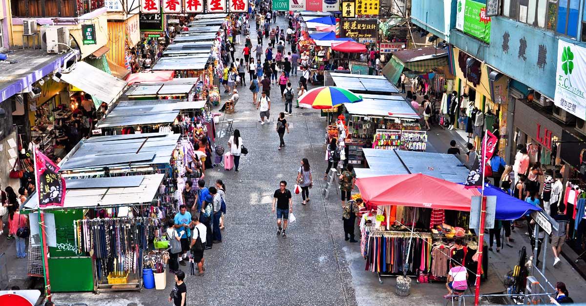 Fa Yuen Street Hong Kong Street Market Stalls